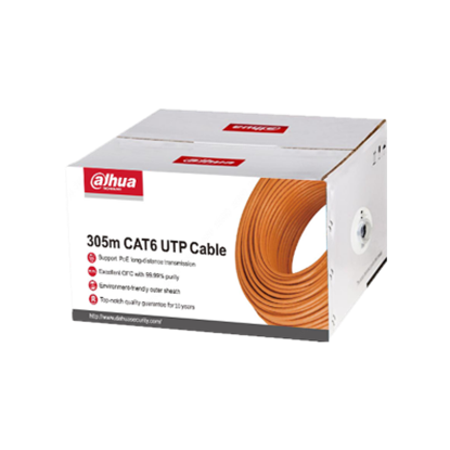 Resim EZ-IP PFM920I-6UN 305m UTP CAT6 Kablo