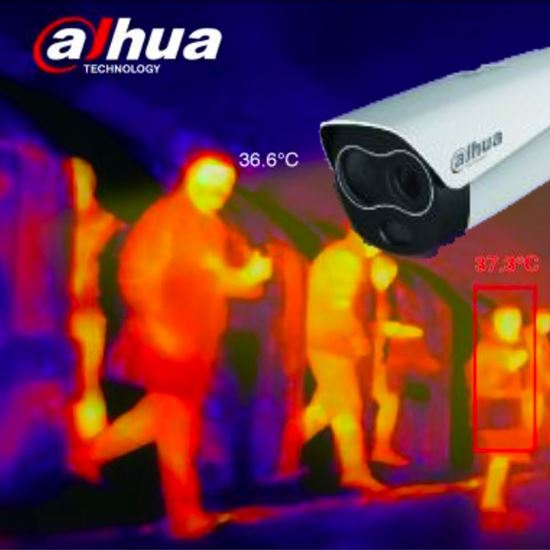 Dahua DH-TPC-BF5421-T Isı Ölçerli Termal Bullet IP Kamera